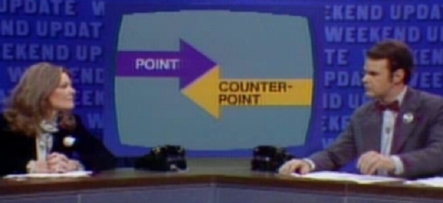 point counterpoint and essays